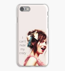 crazyy iPhone Case/Skin