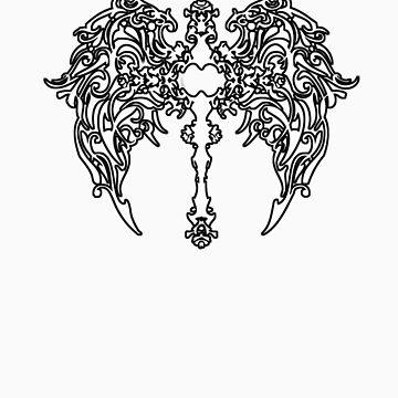 White Cross Design by kelvinlee
