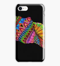 Psychedelic Black Seashell iPhone Case/Skin
