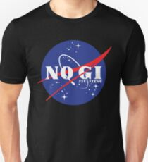 No Gi Jiu Jitsu Grapplenaut T-Shirt