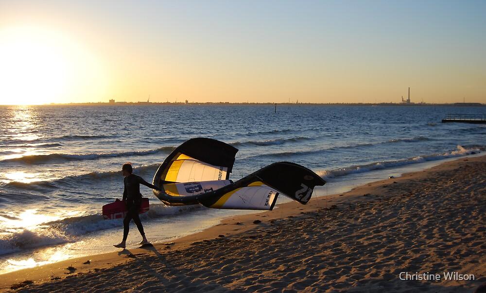 Wind Surfer by Christine Wilson