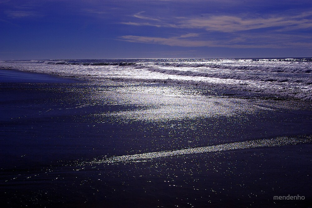 Blue in the After Tide by mendenho