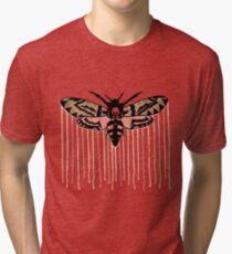 Death's-head hawkmoth Tri-blend T-Shirt