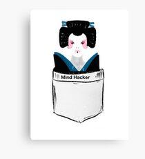 Mind Hacker Canvas Print