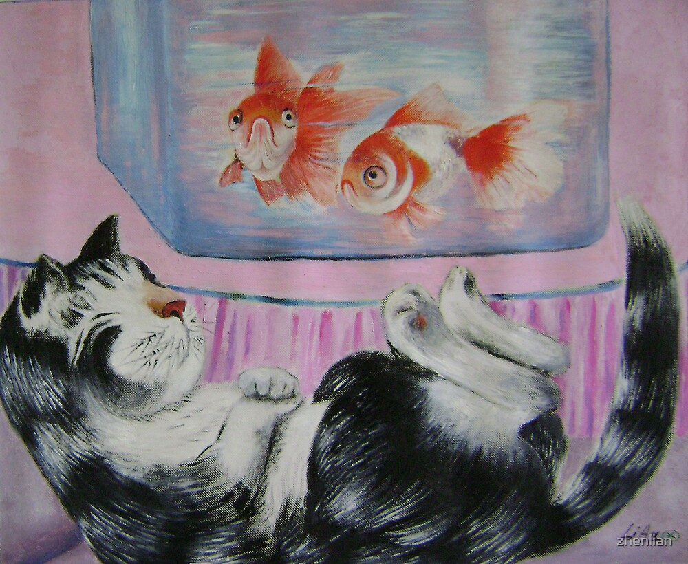 goldfish dream by zhenlian