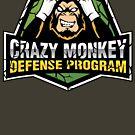 Defensive Monkey by coachrodneyking