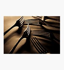 Forks Photographic Print
