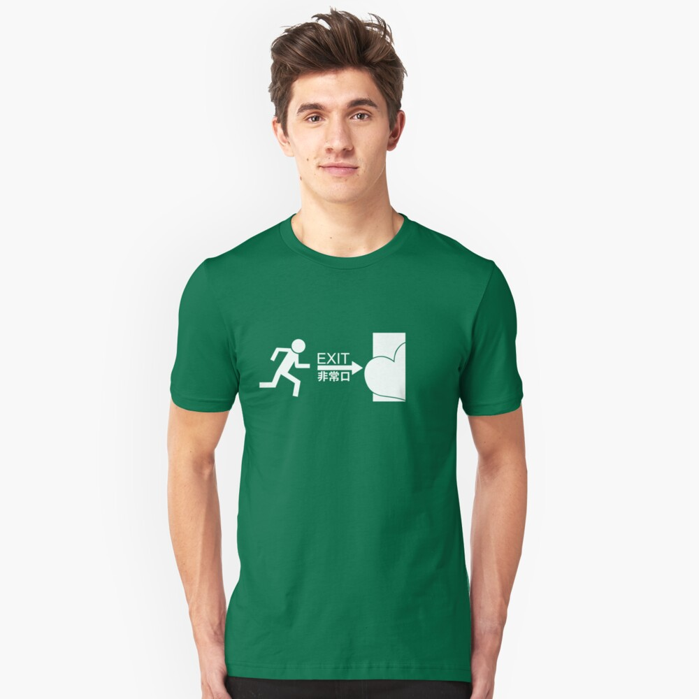 way of exit Unisex T-Shirt Front
