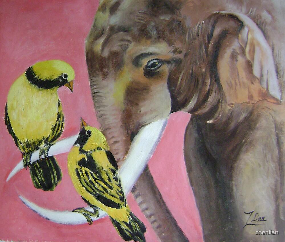 elephant fantasy 2 by zhenlian