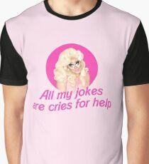 Trixie Mattel Jokes - Rupaul's Drag Race Graphic T-Shirt