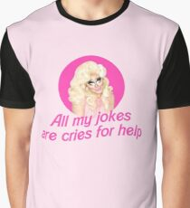 Trixie Mattel Jokes - Rupaul's Drag Race Graphic T-Shirt