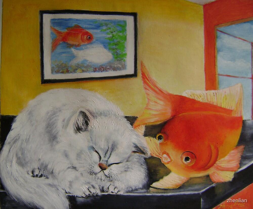 Kitty's dream by zhenlian