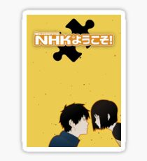 Welcome to the NHK - Simplistic Sticker
