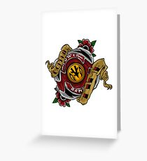 morphin time Greeting Card