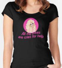 Trixie Mattel Jokes - Rupaul's Drag Race Women's Fitted Scoop T-Shirt