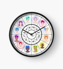 The Zodiacs Clock