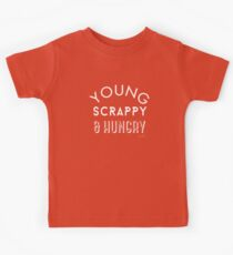 Young Scrappy and Hungry Kids Tee