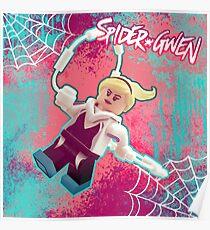 LEGO Spider-Gwen Poster