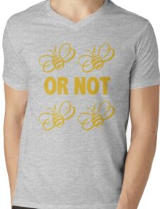 to be or not to be Mens V-Neck T-Shirt