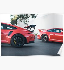 Double Trouble - GT3RS Poster
