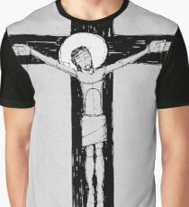 Jesus Christ at the Cross Graphic T-Shirt