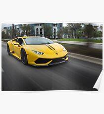 Lamborghini Huracan Poster