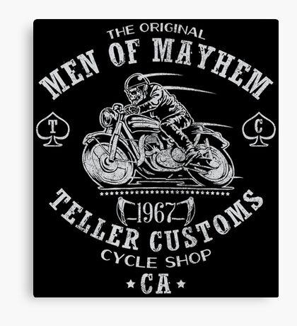 Teller Customs Canvas Print
