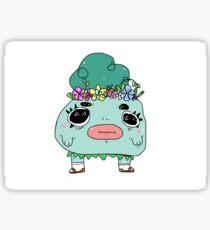 cute flower guy Sticker