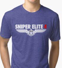 SNIPER ELITE 4 ROESMAN2 Tri-blend T-Shirt