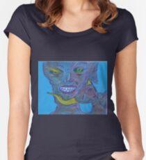 beyond bonding Women's Fitted Scoop T-Shirt