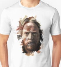 Paint-Stroked Portrait of Musician and Comedian, Tim Minchin Unisex T-Shirt