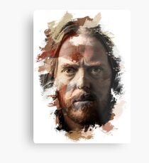 Paint-Stroked Portrait of Musician and Comedian, Tim Minchin Metal Print