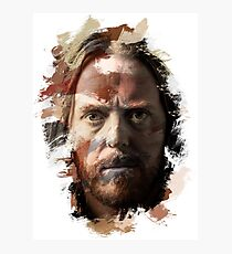 Paint-Stroked Portrait of Musician and Comedian, Tim Minchin Photographic Print