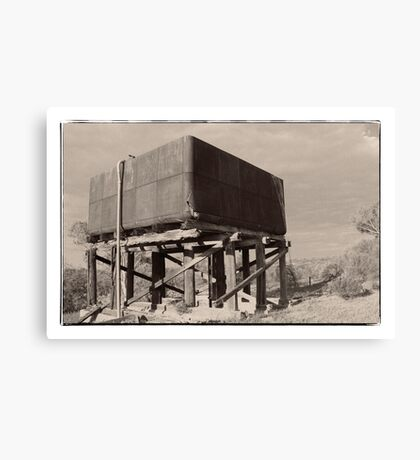 Water tank Canvas Print