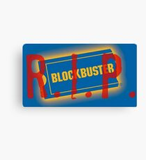 Down with Blockbuster Canvas Print