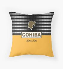 Cohiba Habana Cuba Throw Pillow