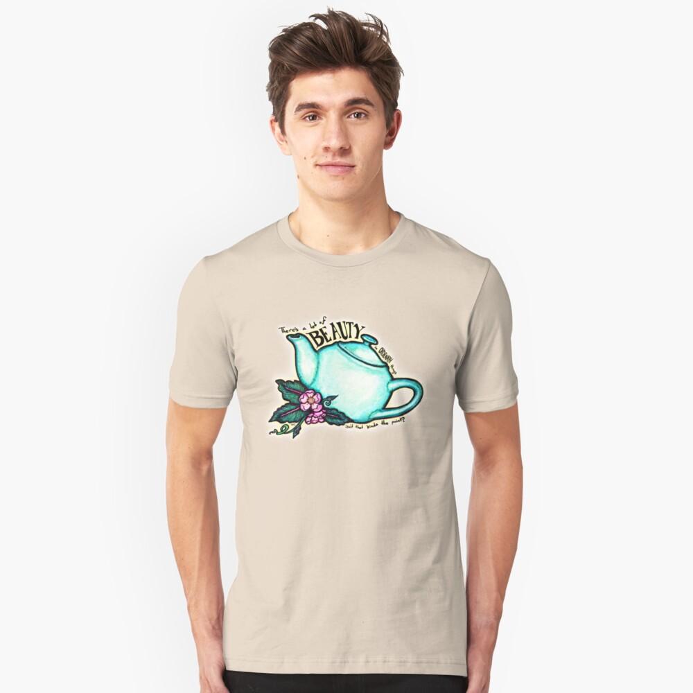 La tetera de la oficina Camiseta ajustada