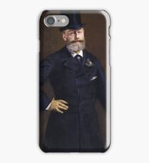 Edouard Manet - Antonin Proust (1880) iPhone Case/Skin