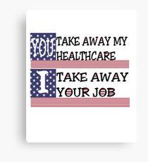 Healthcare loss Canvas Print
