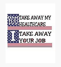 Healthcare loss Photographic Print
