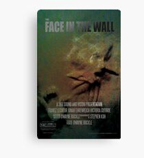 The Face In The Wall by 360 Sound and Vision Canvas Print