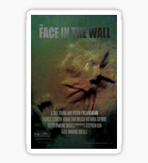 The Face In The Wall by 360 Sound and Vision Sticker