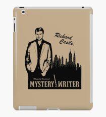 Richard Castle, Mystery Writer iPad Case/Skin