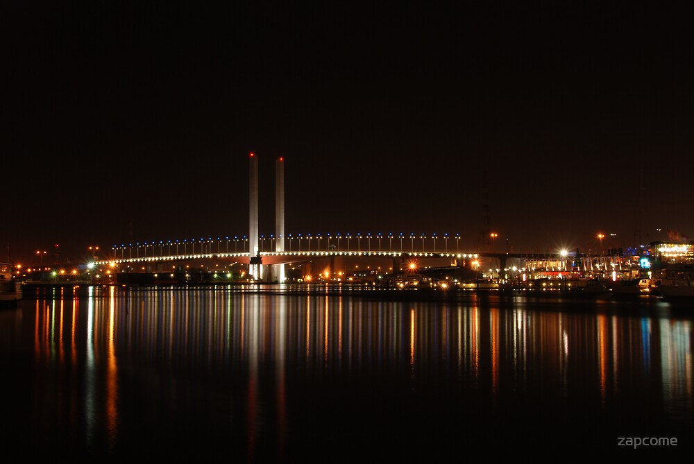 Bolte Bridge, Docklands by zapcome