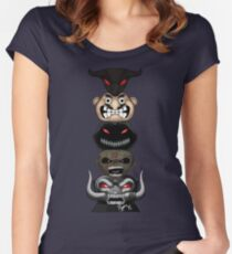 Totem of the Metal Mascots Women's Fitted Scoop T-Shirt