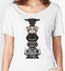 Totem of the Metal Mascots Women's Relaxed Fit T-Shirt