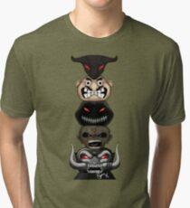 Totem of the Metal Mascots Tri-blend T-Shirt