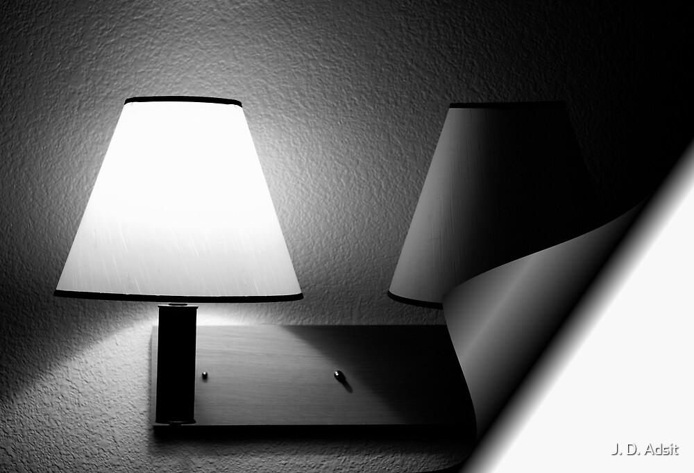 I left the Light on for You by J. D. Adsit