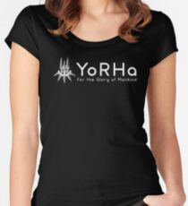 yorha Women's Fitted Scoop T-Shirt