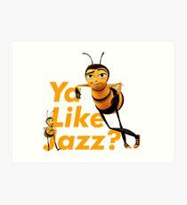 Bee Movie Script Art Print